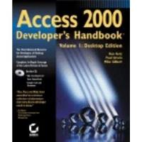 Book Access 2000 Developer's Handbook