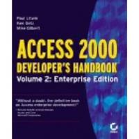 Book Access 2000 Developer's Handbook (enterprise edition)