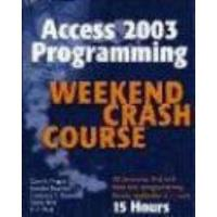 Book Access 2003 Programming