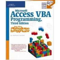Book Microsoft Access VBA Programming for the Absolute Beginner