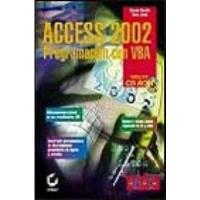 Book ACCESS 2002: PROGRAMACIÓN CON VBA