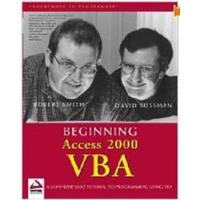 Book Beginning Access 2000 VBA