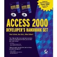 Book Access 2000 Developer's Handbook Set