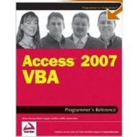 Book Access 2007 VBA Programmer's Reference