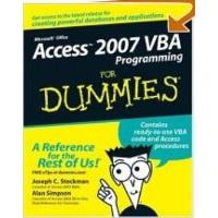 Book Access 2007 VBA Programming For Dummies