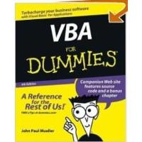 Book VBA for Dummies