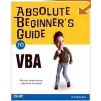 Book Absolute Beginner's Guide to VBA